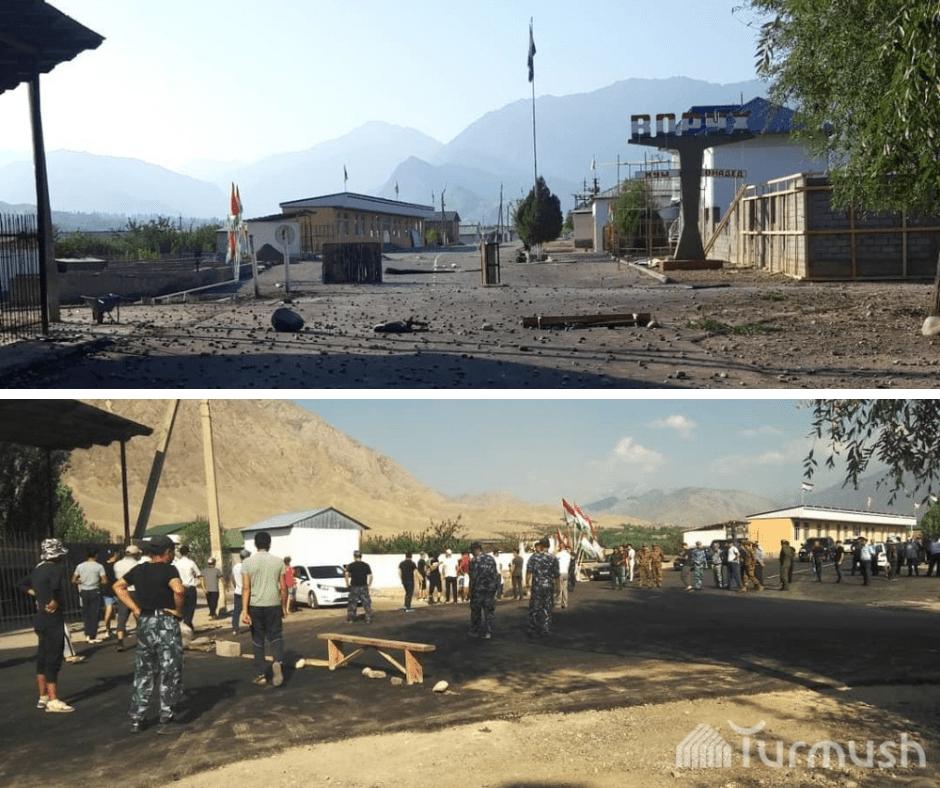 Vorukh Conflit Tadjikistan Kirghizstan Enclave Frontière