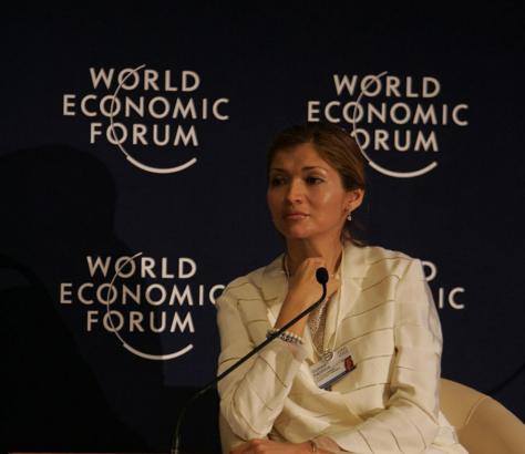 Goulnara Karimova, Forum économique mondial