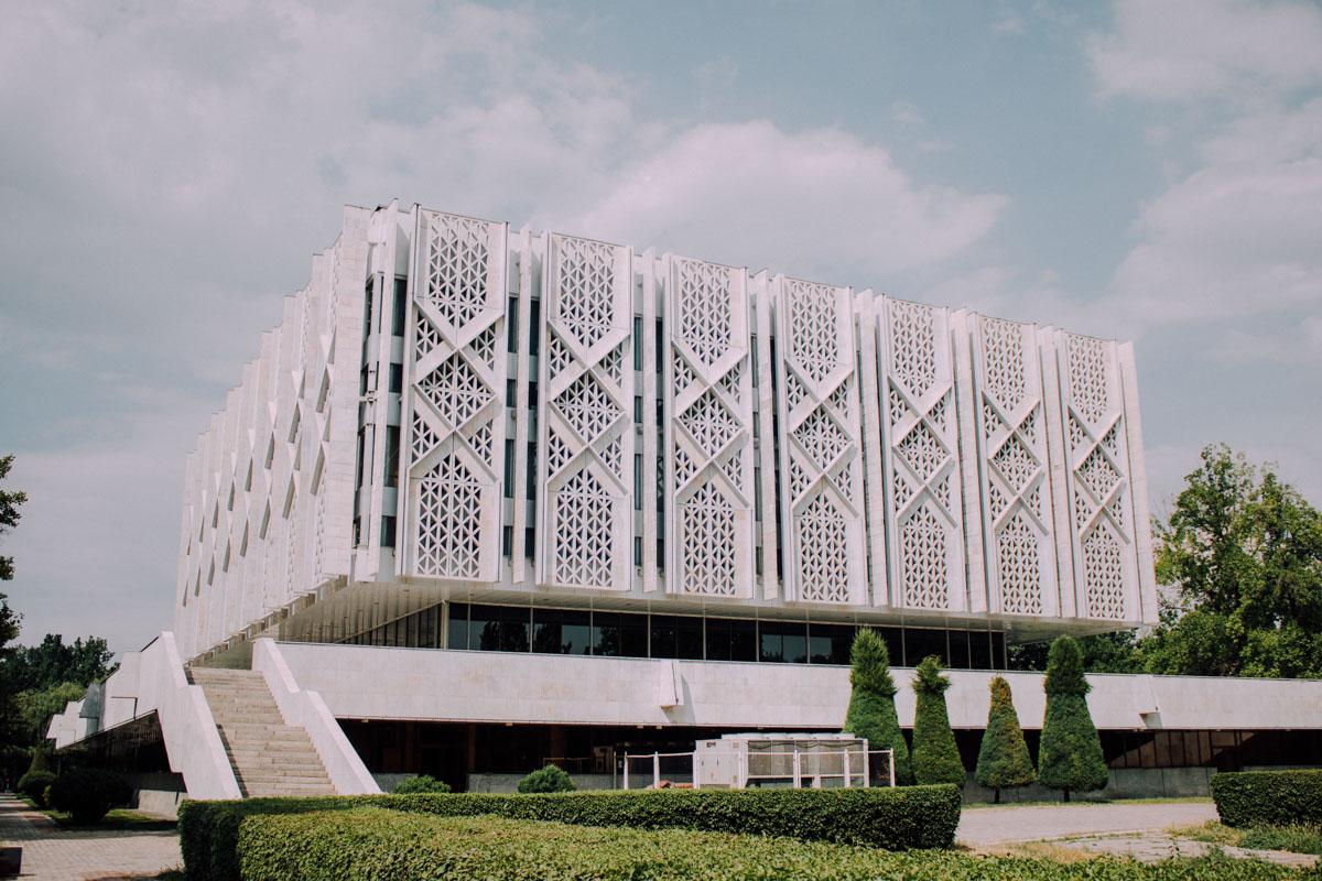 Musée d'histoire de l'Ouzbékistan Architecture Patrimoine URSS Tachkent Ouzbékistan