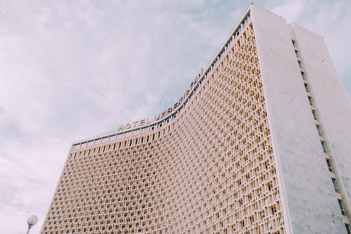 Hôtel Ouzbékistan Architecture Patrimoine URSS Tachkent Ouzbékistan