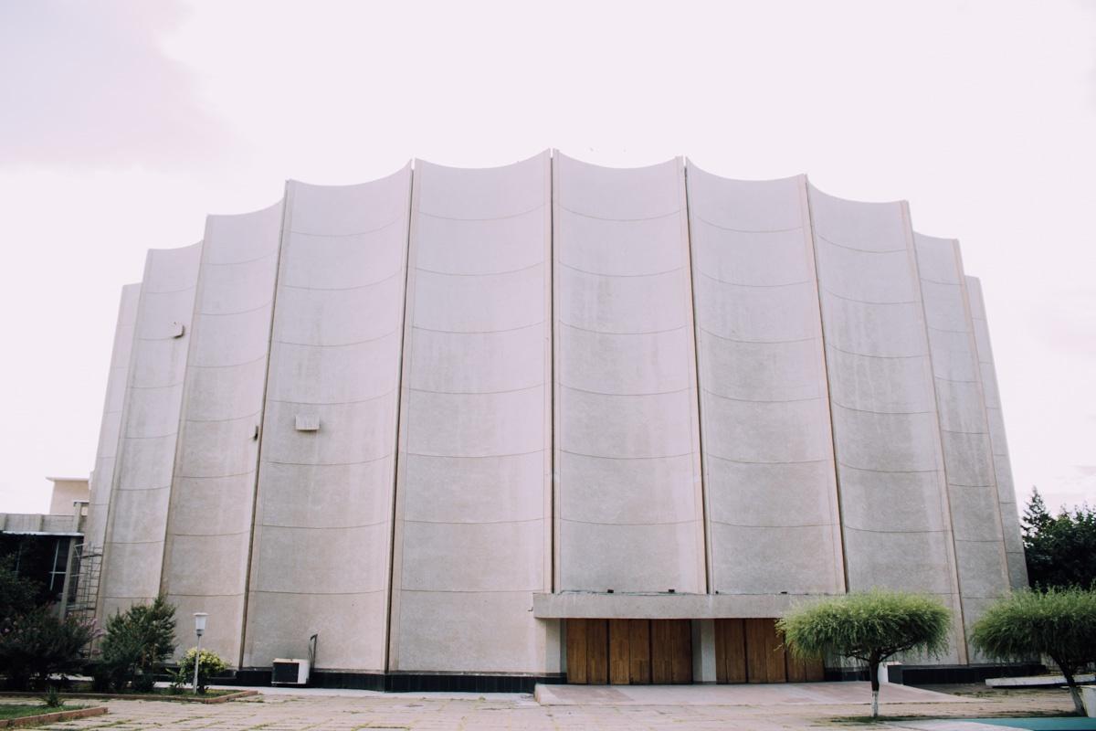 Cinéma A. Navoï («Panorama») Architecture Patrimoine URSS Tachkent Ouzbékistan