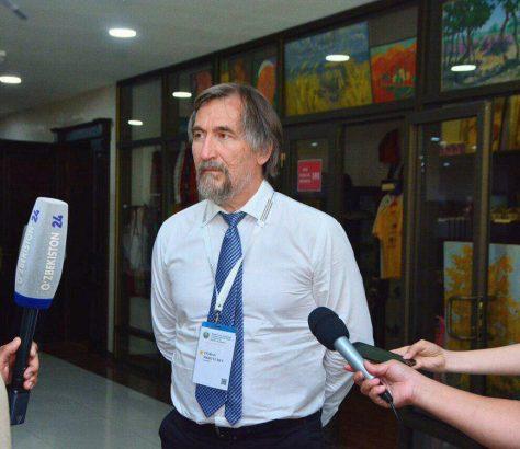 Tigran Mkrtychev Directeur Musée Igor Savitsky Noukous Karakalpakistan Ouzbékistan