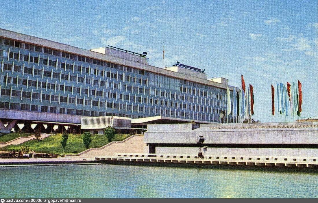 Cabinet des ministres Architecture Patrimoine URSS Tachkent Ouzbékistan