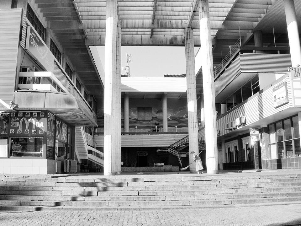 Centre commercial ZaravchanArchitecture Patrimoine URSS Tachkent Ouzbékistan