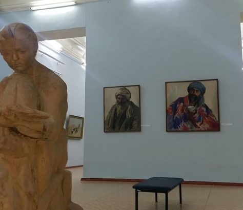 Boukhara Ouzbékistan Art Pavel Benkov Avant-garde Peinture