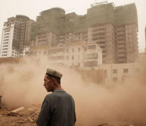 Vieille ville Kachgar Démolition Chine Région autonome ouïghoure Xinjiang