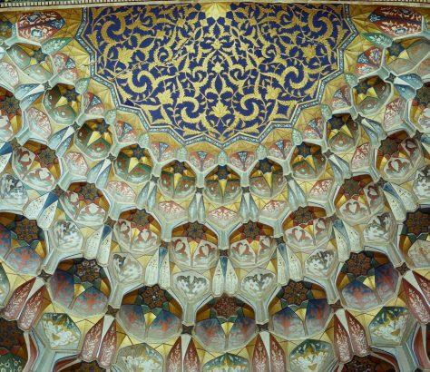 Architecture islamique Ouzbékistan Boukhara medersa Abdoulaziz Khan muqarnas
