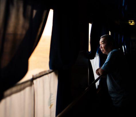 Le chemin de fer permet de desservir la plupart des villes du Kazakhstan à un prix modéré.