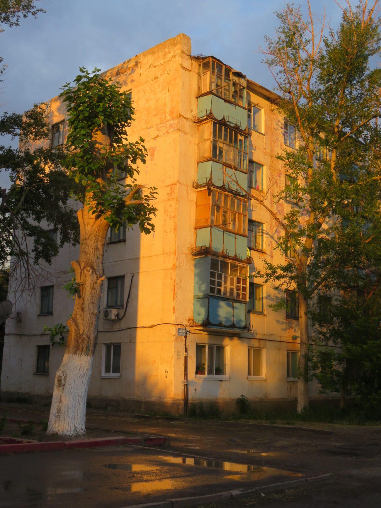 HLM Arkalyk Kazakhstan Architecture soviétique