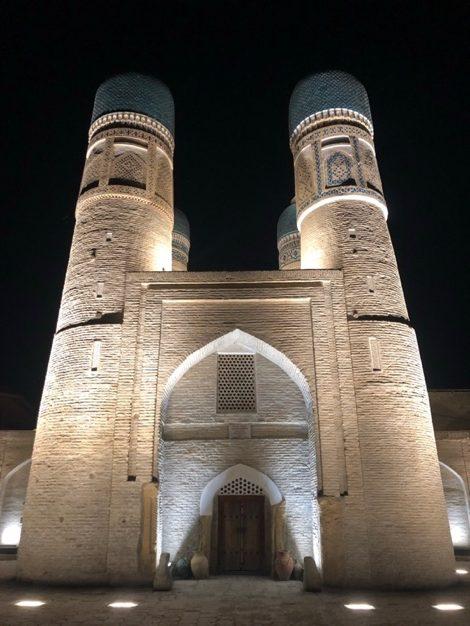 Tchor Minor Medersa Madrassa Boukhara Ouzbékistan