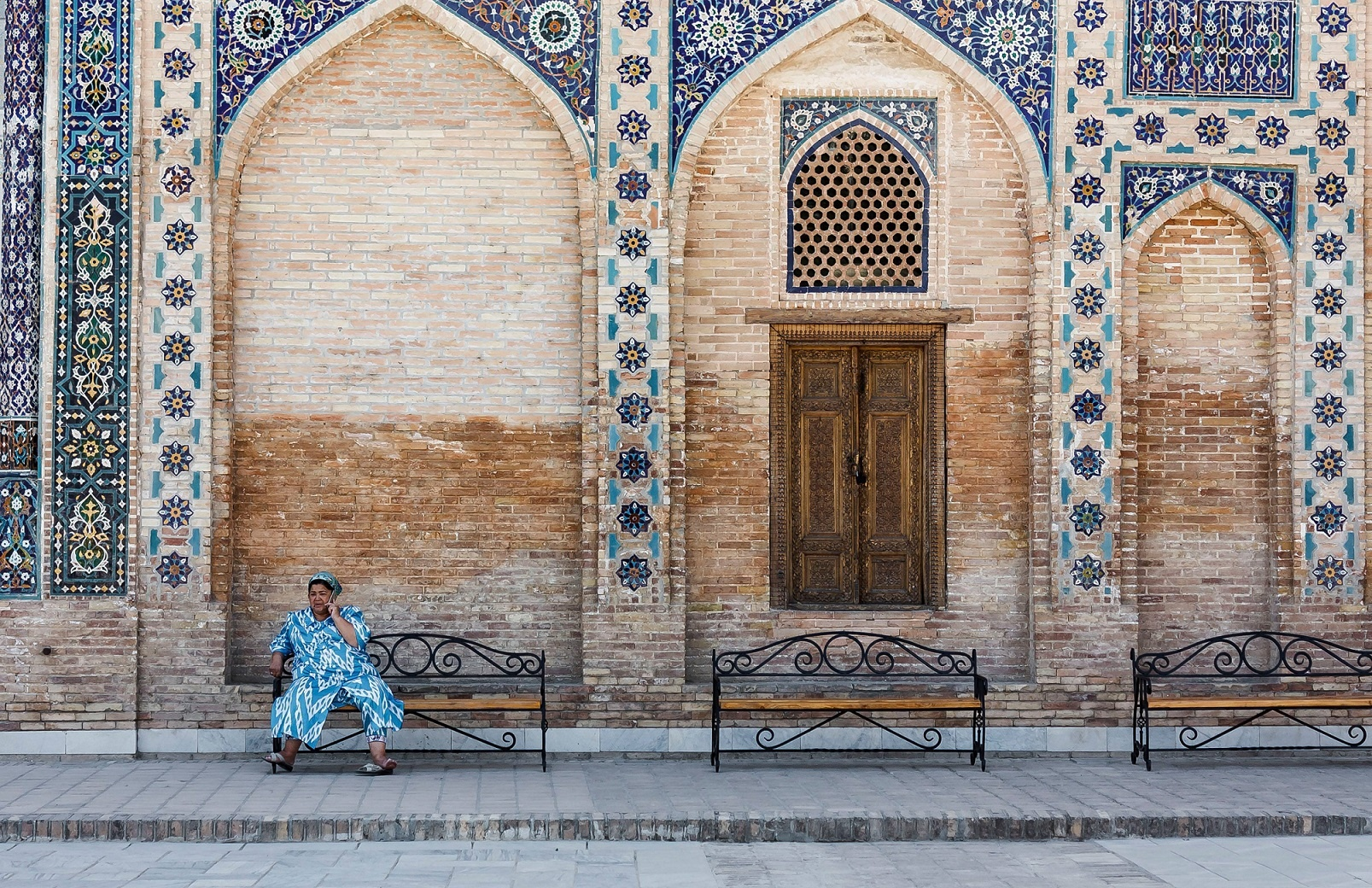 Mausolée Gour Emir Amir Timour Samarcande Ouzbékistan Tanya Zavkieva