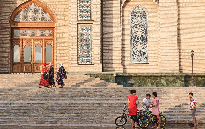 Complexe Khazrat Imam Tachkent Ouzbékistan Tanya Zavkieva