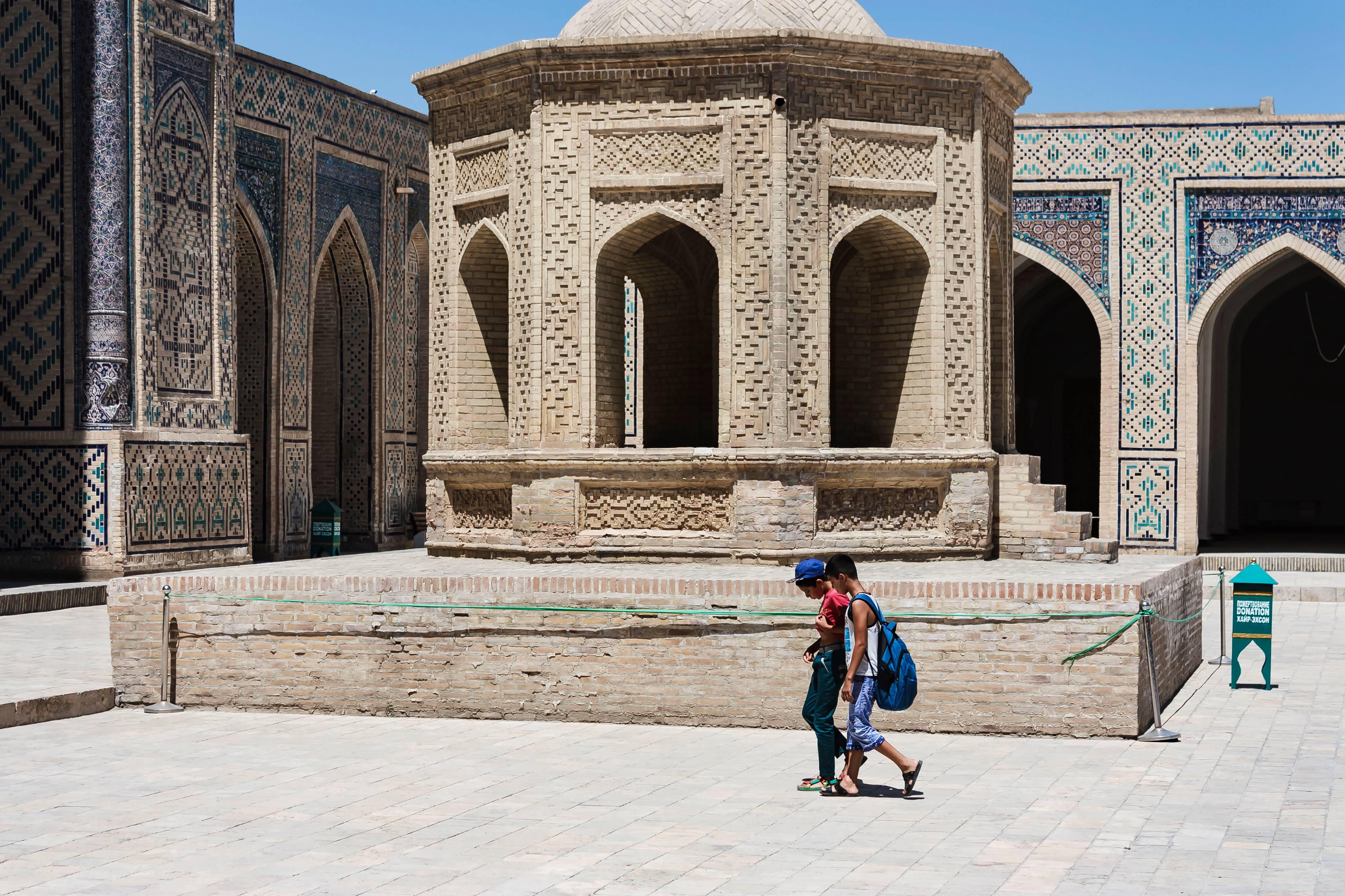 Mosquée Kalon Boukhara Ouzbékistan Tanya Zavkieva