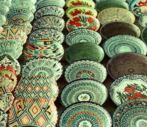Boukhara Ouzbékistan Céramique Artisanat