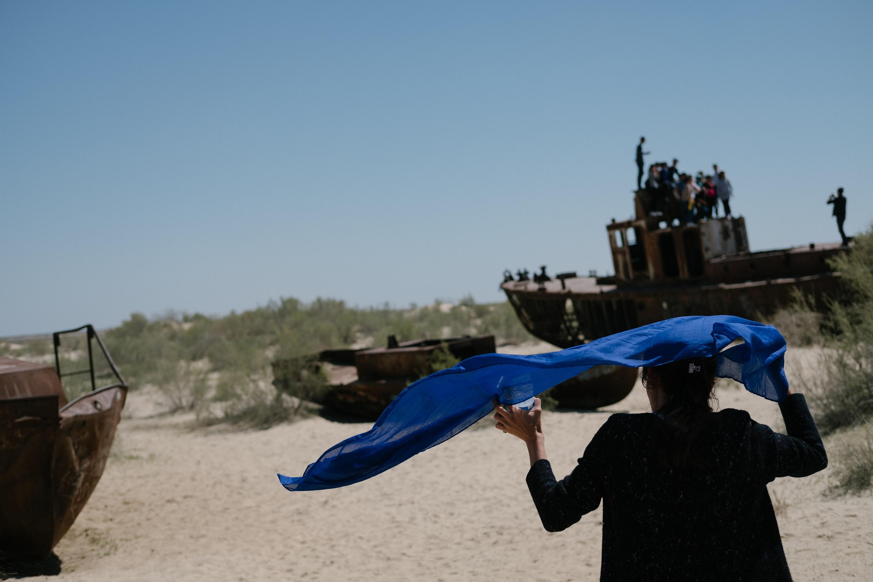 Muynaq mer d'Aral Ouzbékistan Timour Karpov