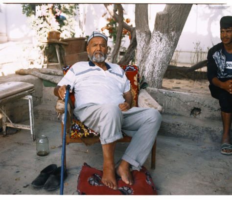 Samarcande Loli Kichlak vielle ville Lyuli Ouzbékistan portrait Hassan Kurbanbaev