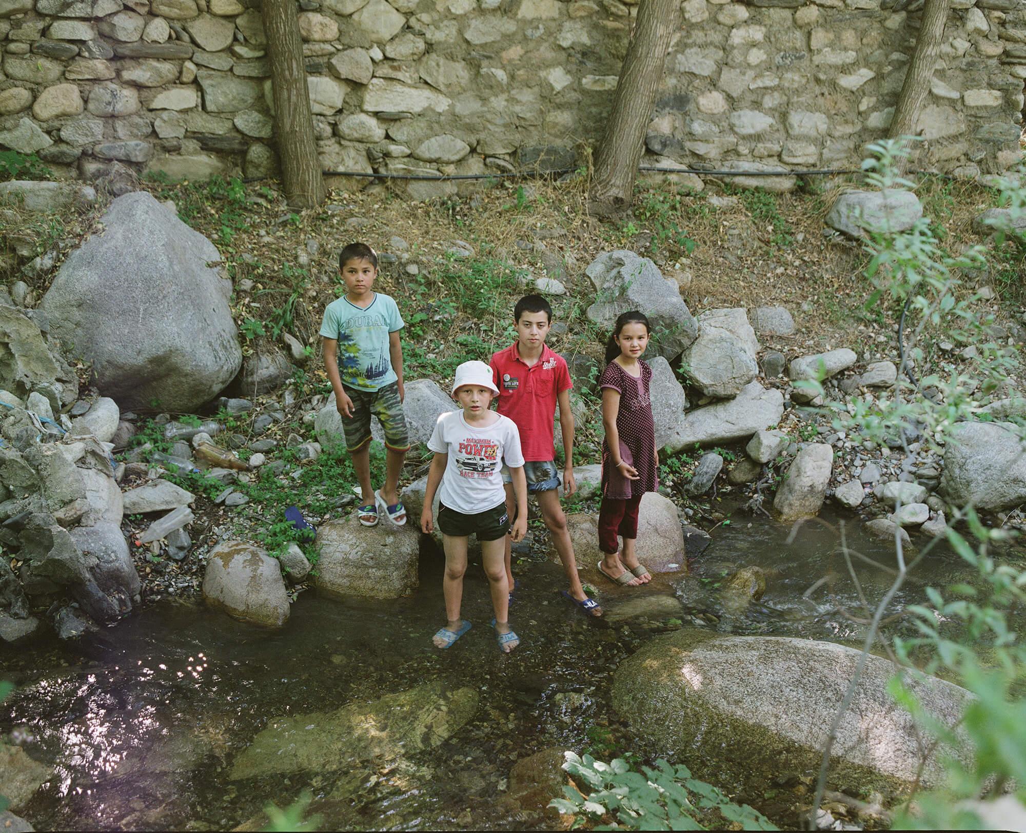 Oksoy Ouzbékistan enfants Hassan Kurbanbaev