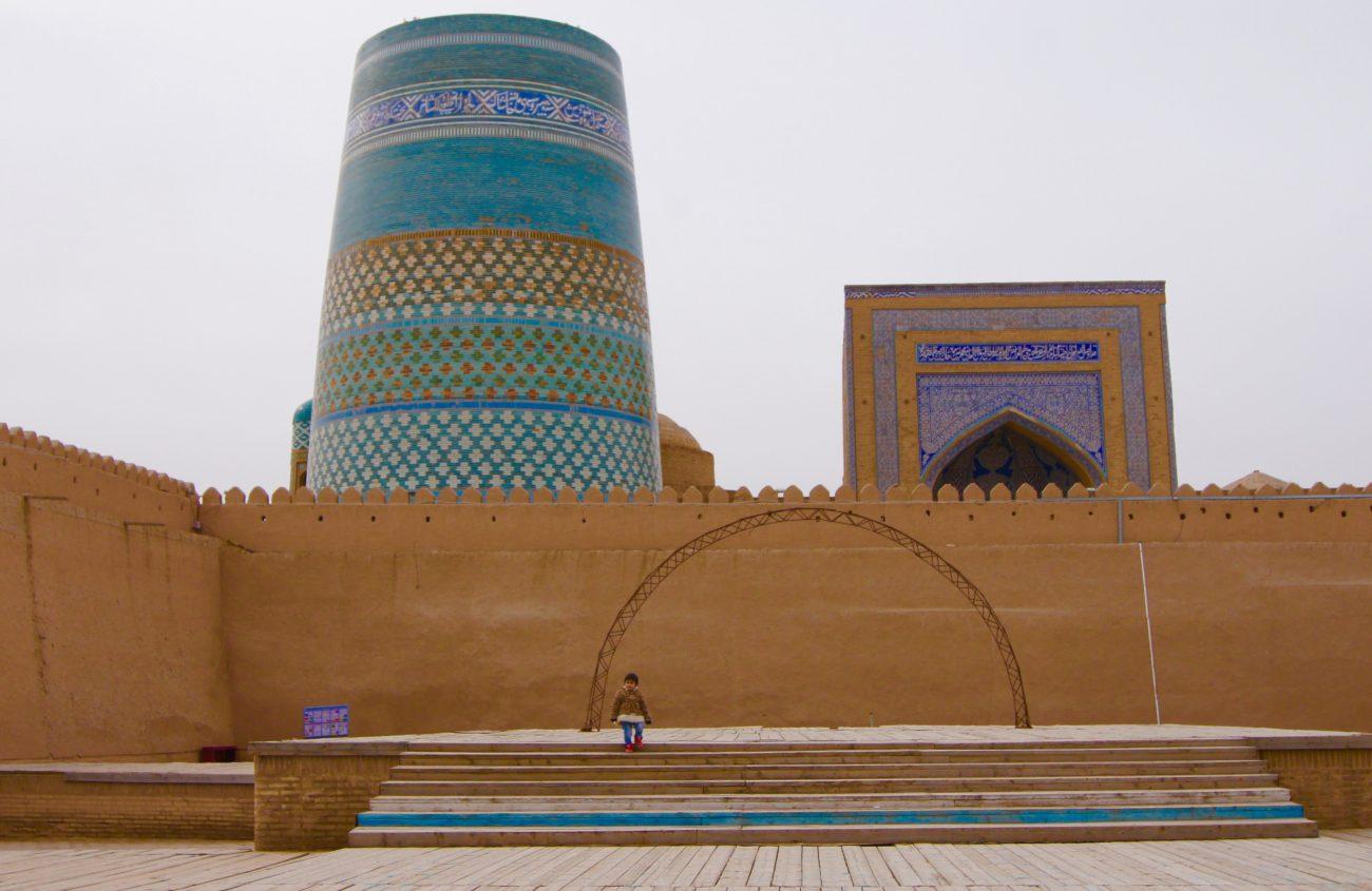 Ouzbékistan Khiva KaltaMinor Minaret