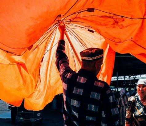 Bazar Chorsu Tachkent Ouzbékistan Stanislav Magay