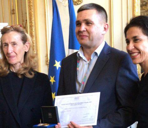 Alexeï Petrouchevskii Kirghizstan France Prix des droits de l'Homme Liberté Egalité Fraternité Enfants
