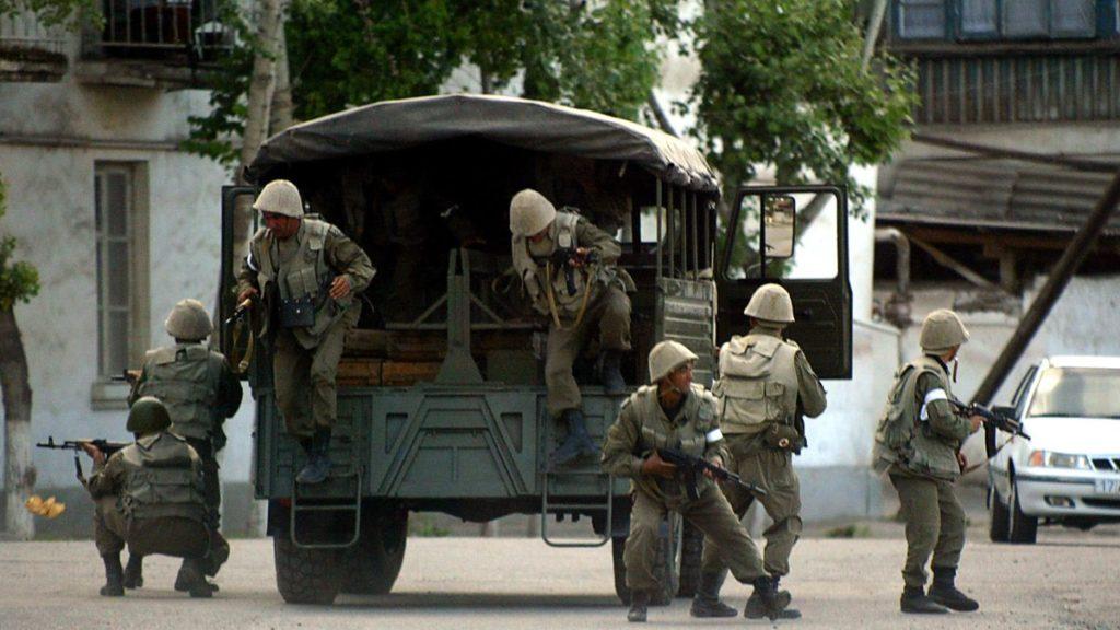Andijan Ouzbékistan 2005 émeutes