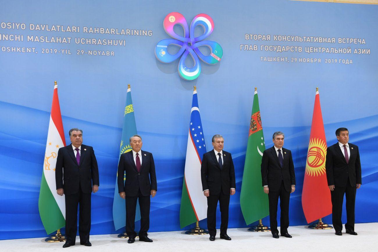 Tadjikistan Ouzbékistan Kirghizstan Kazakhstan Turkménistan président sommet tachkent