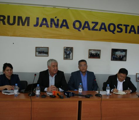 Nouveau Forum Kazakhstan Amirjan Kossanov Opposition Politique