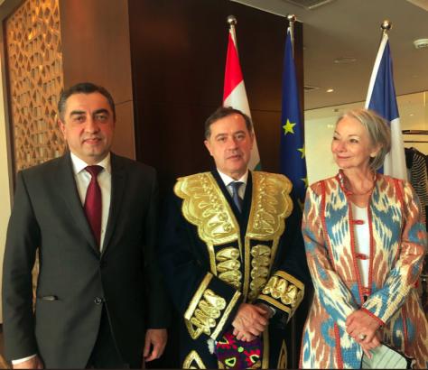 Pascal Lorot Tadjikistan Yasmine Gouédard France Tadjikistan Visite Diplomatie