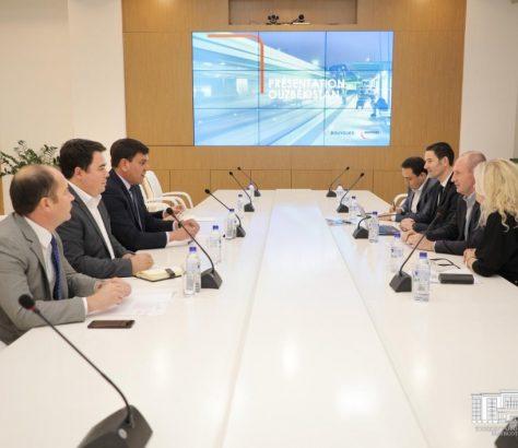Bouygues réunion à Tachkent Mars 2020