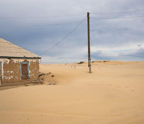 Mer d'Aral Kazakhstan désert