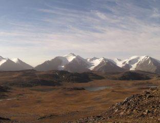 Tien Chan Glacier Changement Climatique