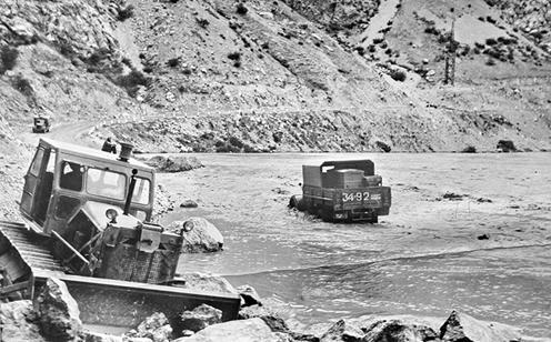 Naryn Rivière Toktogoul Barrage Kirghizstan Eau Lac Electricité Histoire