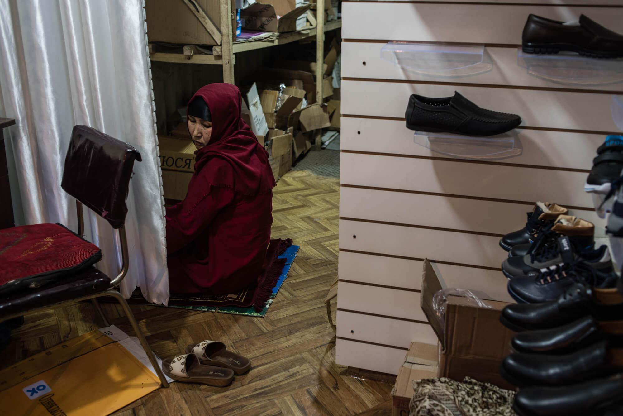 Kara-Suu Och Kirghizstan Prière Mutakalim