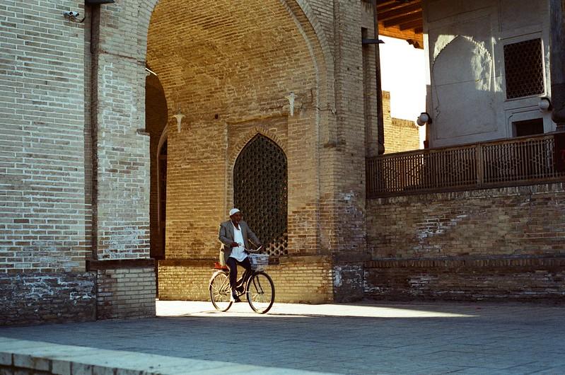 Vélo Boukhara Ouzbékistan