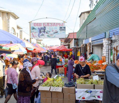 Och Bazar Bichkek Coronavirus Covid-19 Economie Kirghizstan PME