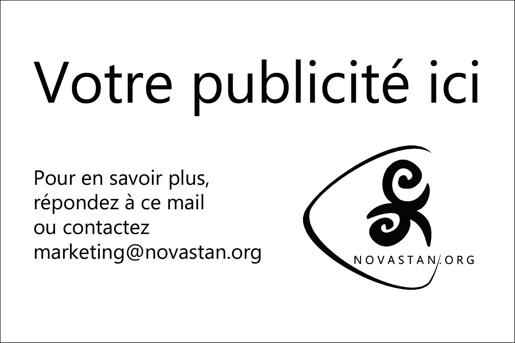 Novastan Asie centrale média Publicité Marketing Newsletter