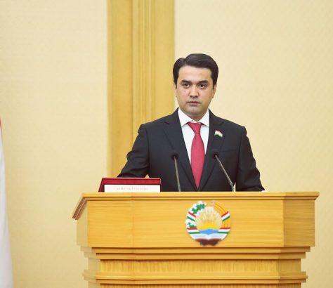 Rustam Emomali Tadjikistan Politique Président Sénat