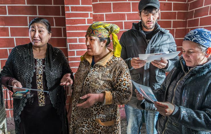 Tsiganes Lyulis Ouzbékistan Tachkent Mahalla Société Culture Tchachma Habitants