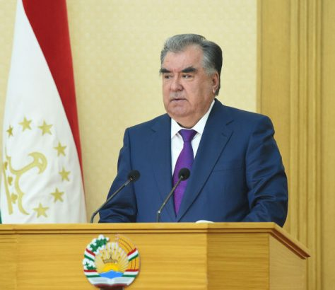 Emomalii Rahmon Jeûn Ramadan Tadjikistan Discours Exception
