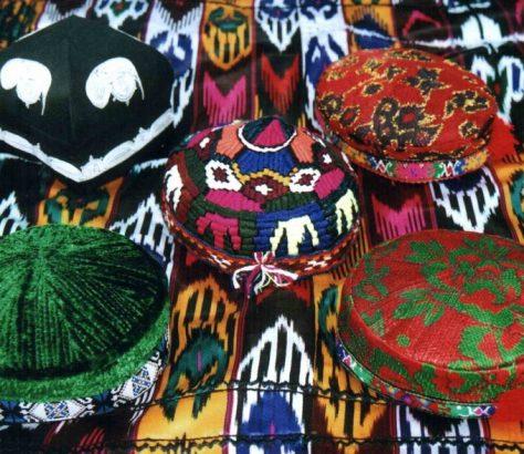 Tadjikistan tubeteïka bonnet traditionnel tadjik Culture Chapeau