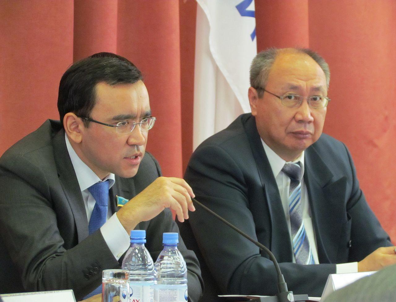 Achimbaïev État Limogeage Nazarbaïeva