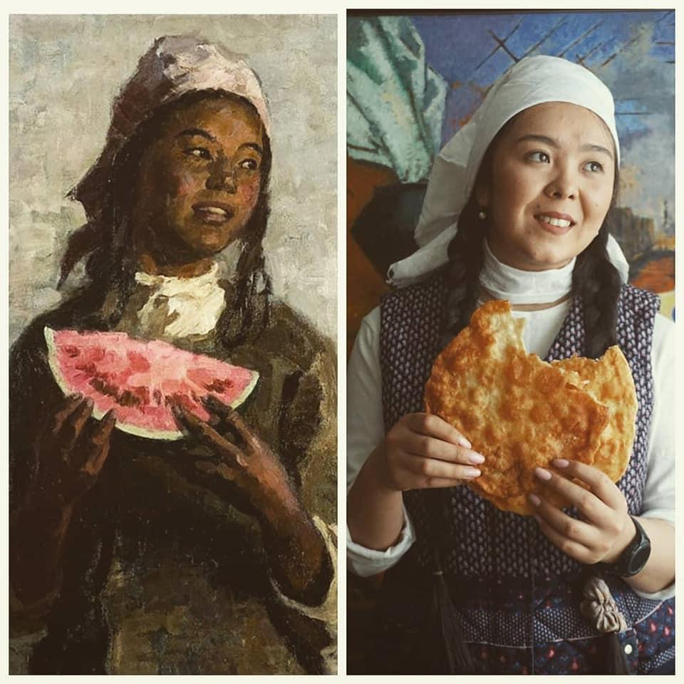 Izoizolyacia Kirghizstan Art Coronavirus Covid-19 Art Tchouïkov Internet Facebook