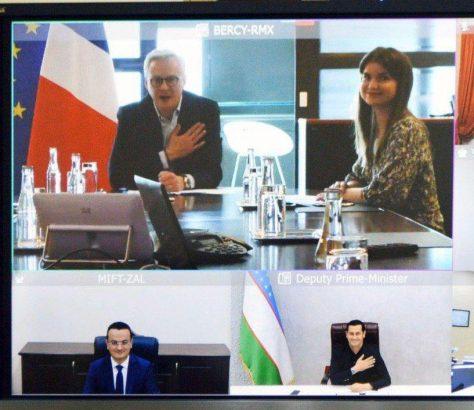 Ouzbékistan France Bruno Le Maire Oumourzakov Sardor Ouktamovich Entretien Gouvernements