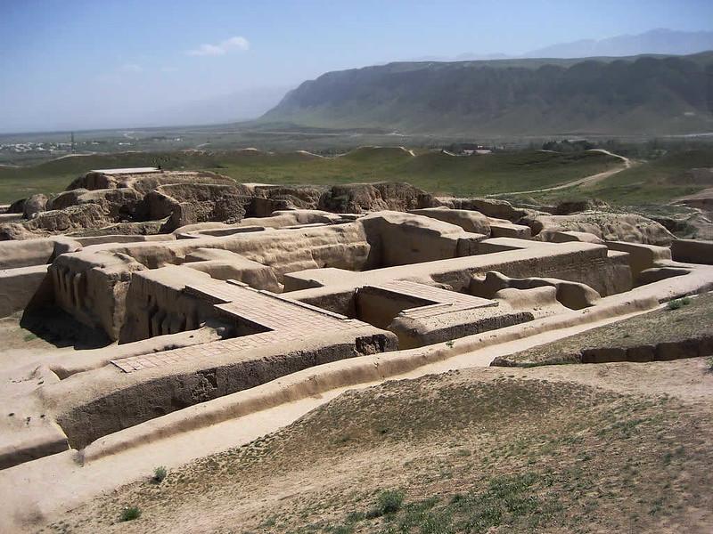 Nisa Ruines Achgabat Turkménistan