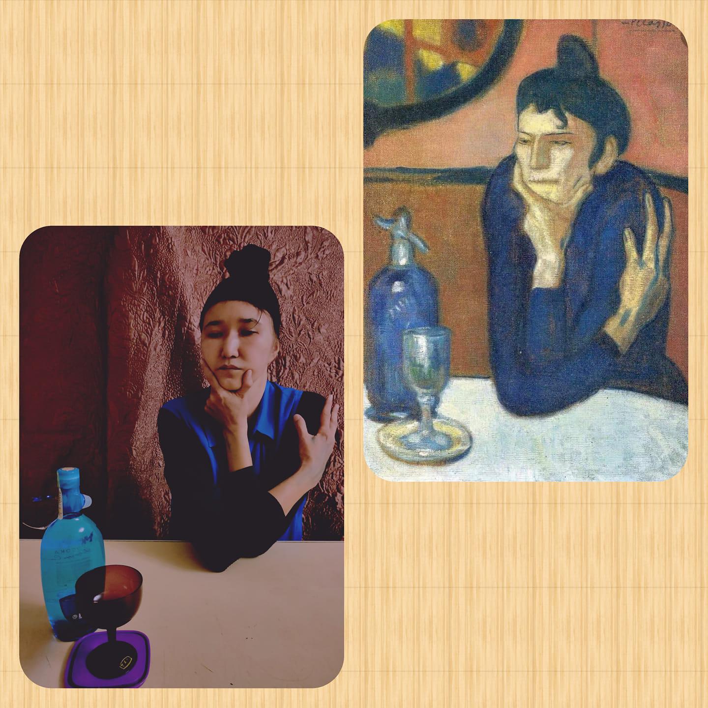 Art Kazakhstan Confinement Art Picasso Almaty Coronavirus Covid-19 Internet Facebook