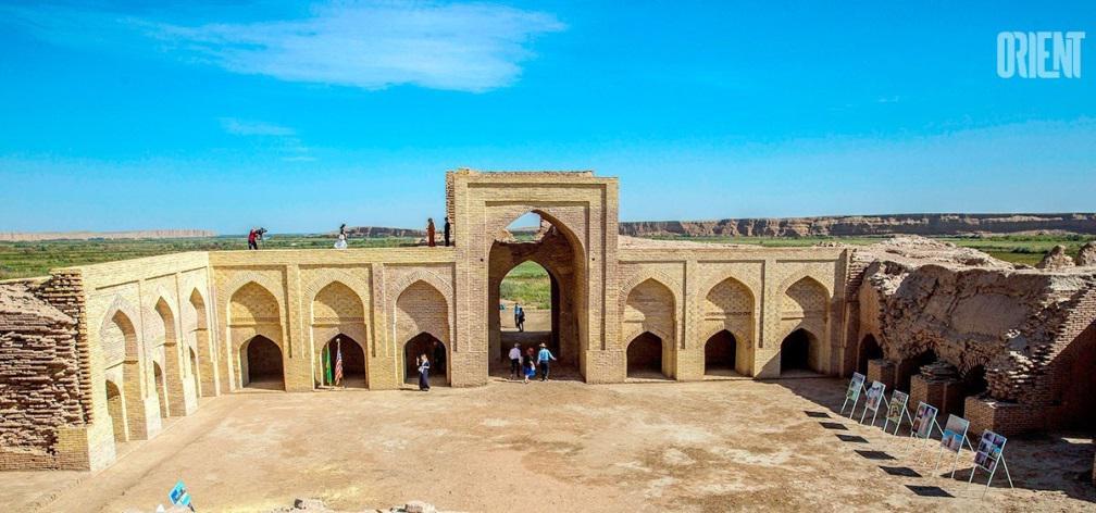 Turkménistan Dayahatyn Caravansérail Extérieur