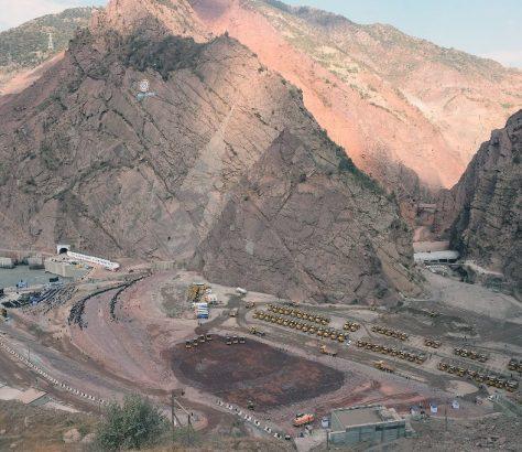 Tadjikistan Economie Rogun Energie Eau Covid-19 Construction Centrale