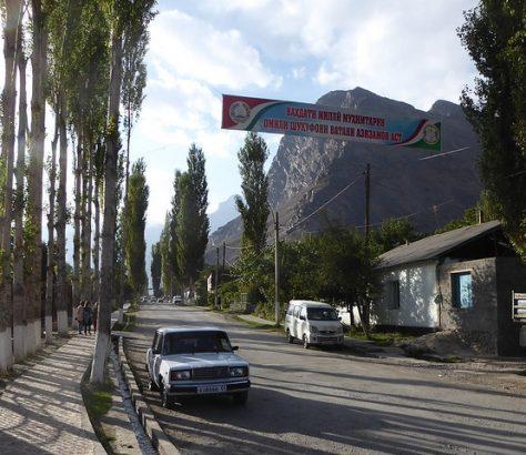 Rushan Haut Badakhchan Tadjikistan Manifestation Conflit Crime Organisé