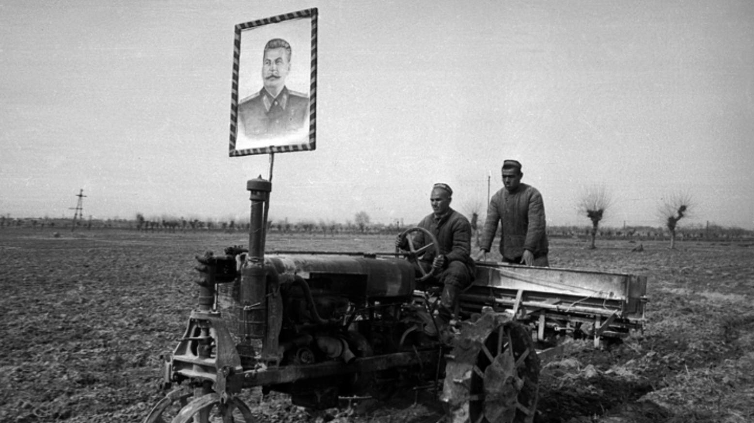 Agriculture Ouzébkistan Pouvoir Soviétique