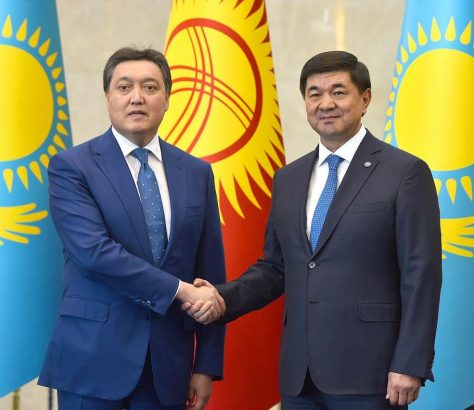 Kazakhstan Kirghizstan Frontières Commerce Economie Accords Covid-19
